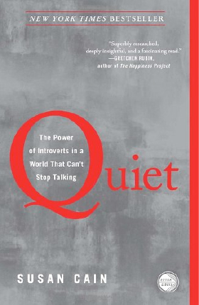 The book Quiet is about how introverts need more quiet time. With all the distractions they have in their lives, I think all kids need more quiet time.