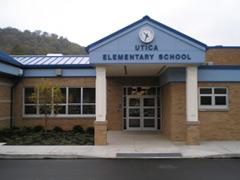Utica Elementary School in Pennsylvania.  Photo credit: fasd.k12.pa.us