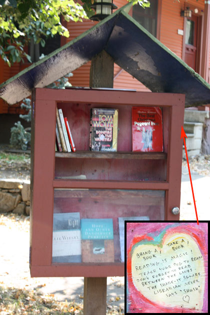 book exchange station