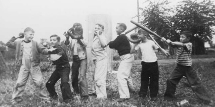 Due to the demise of pick-up sports games, boys' lives have changed significantly.  Their social and cognitive advancement has suffered as well.