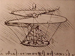 Leonardo Da Vinci created dozens of brilliant creative designs like this that he never actually built.  Is this what unstructured play is about?