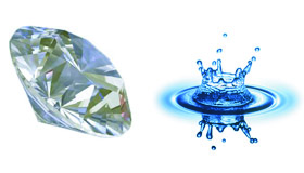 Happy childhoods are to elite universities like water is to diamonds.  Huh?  Read on...