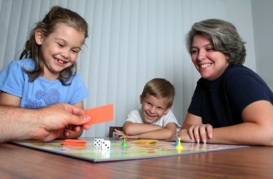 How about a family evening with a board game?