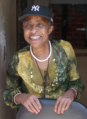 Hetty Fox, veteran neighborhood activist in the South Bronx, NY.