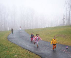 Do you ever discourage your kids from playing in the rain?  If you never do, they'll always love it.  photo credit:  nelsondowns.com