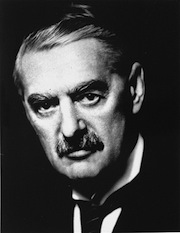 This is Neville Chamberlain, appeaser of Nazis.  If he were a parent today, I'm sure he'd have his kids scheduled to the max outside the home, and addicted to video games and social networks inside.