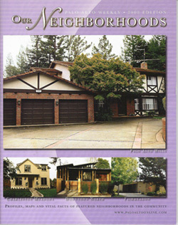 The 2008 edition of Our Neighborhoods, published by the Palo Alto Weekly.