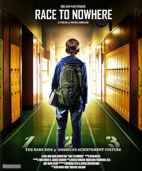 'Race to Nowhere' is a documentary that depicts the madness of teens' highly stressful, busy lives.  To avoid this, parents must start early, encouraging their young children to think independently.