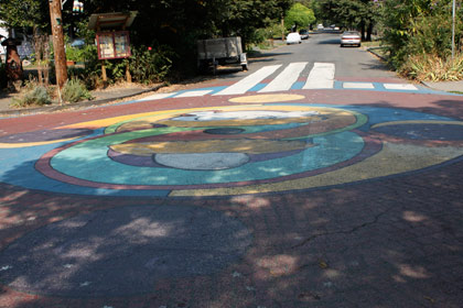 Share-It Square's street mural